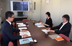 日建協(写真左)と日本建築家協会(写真右)
